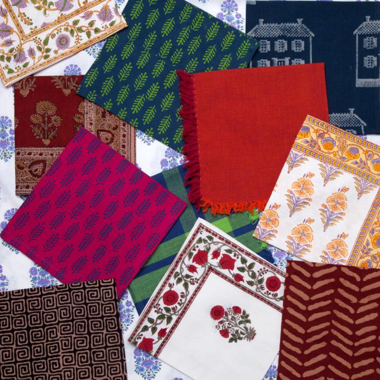 MarigoldStyle handmade Indian napkins