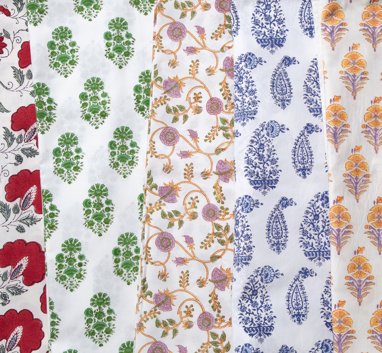 Marigold Living block print designs