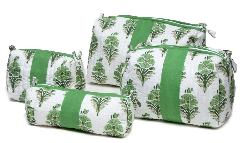MarigoldStyle Juhi green makeup bags