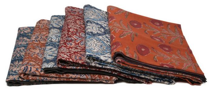 MarigoldStyle kalamkari tablecloths