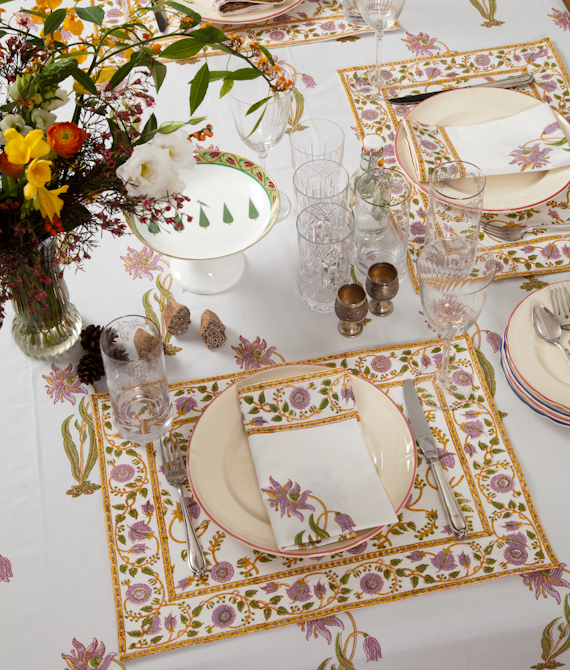 MarigoldStyle table linens