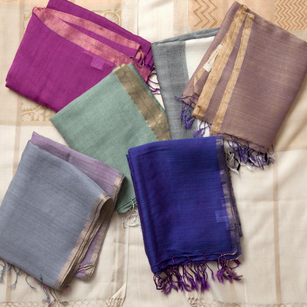 MarigoldStyle wool-silk scarves