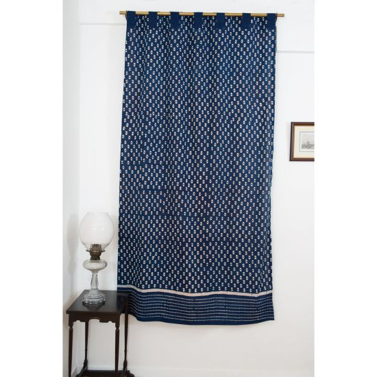 Nagina Indigo Curtain